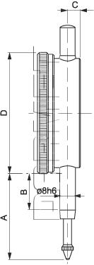 Dial Indicator -10/0,01MM (512D-063)
