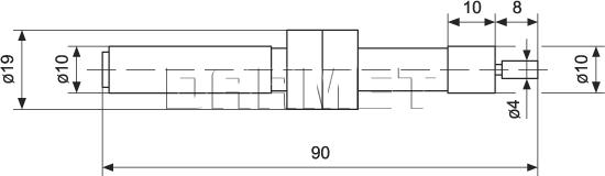 Mechanical Edge Finder - CZK00A