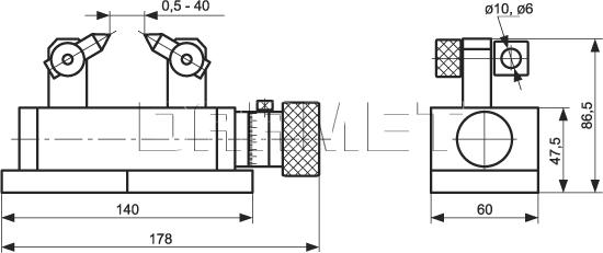 Precision Duplex Dresser