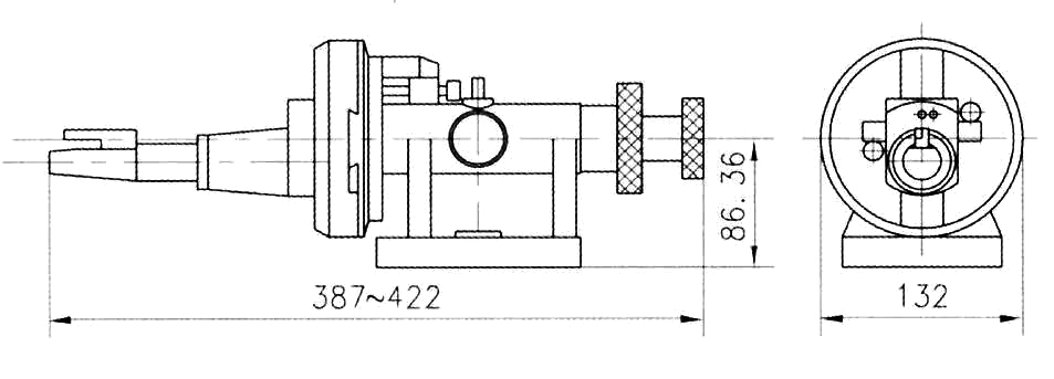Radius and Angle Wheel Dresser