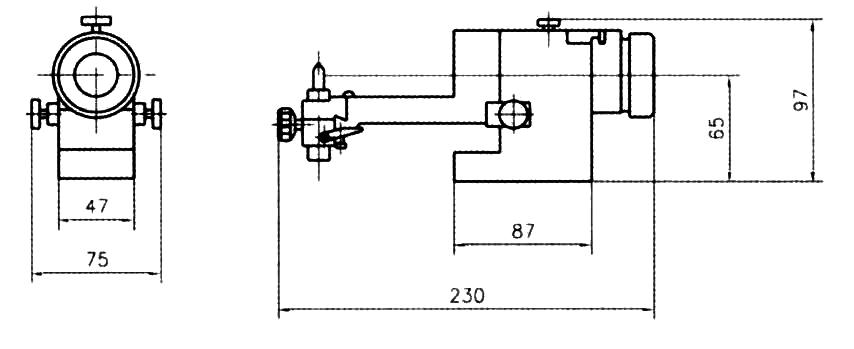 Optical Radius And Angle Wheel Dresser Dm 286